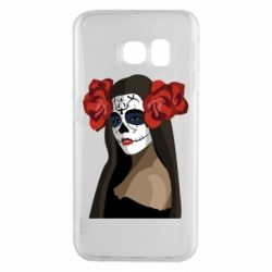 Чохол для Samsung S6 EDGE The girl in the image of the day of the dead