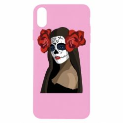 Чохол для iPhone Xs Max The girl in the image of the day of the dead