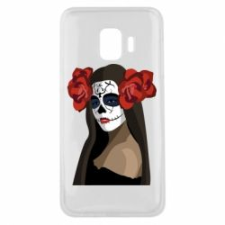 Чохол для Samsung J2 Core The girl in the image of the day of the dead