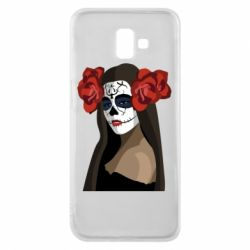 Чохол для Samsung J6 Plus 2018 The girl in the image of the day of the dead