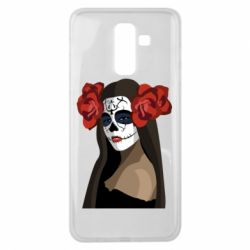 Чохол для Samsung J8 2018 The girl in the image of the day of the dead