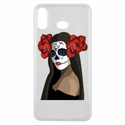 Чохол для Samsung A6s The girl in the image of the day of the dead
