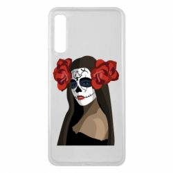 Чохол для Samsung A7 2018 The girl in the image of the day of the dead