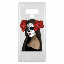 Чохол для Samsung Note 9 The girl in the image of the day of the dead