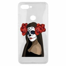 Чехол для Xiaomi Mi8 Lite The girl in the image of the day of the dead