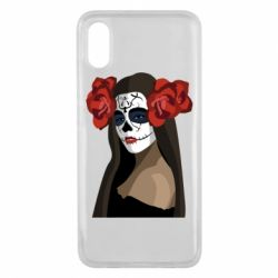 Чехол для Xiaomi Mi8 Pro The girl in the image of the day of the dead