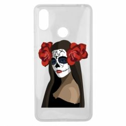 Чехол для Xiaomi Mi Max 3 The girl in the image of the day of the dead