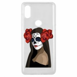 Чехол для Xiaomi Mi Mix 3 The girl in the image of the day of the dead