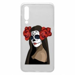 Чехол для Xiaomi Mi9 The girl in the image of the day of the dead