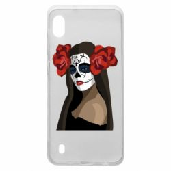 Чохол для Samsung A10 The girl in the image of the day of the dead
