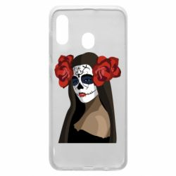 Чохол для Samsung A20 The girl in the image of the day of the dead
