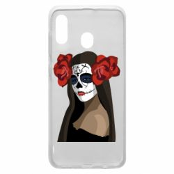 Чохол для Samsung A30 The girl in the image of the day of the dead