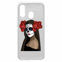 Чохол для Samsung A40 The girl in the image of the day of the dead