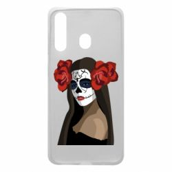 Чохол для Samsung A60 The girl in the image of the day of the dead