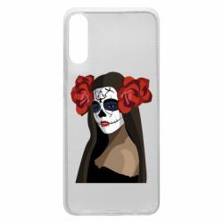 Чохол для Samsung A70 The girl in the image of the day of the dead
