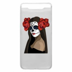 Чохол для Samsung A80 The girl in the image of the day of the dead