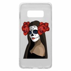 Чохол для Samsung S10e The girl in the image of the day of the dead