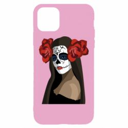 Чохол для iPhone 11 The girl in the image of the day of the dead