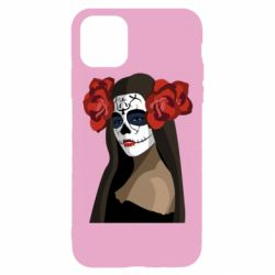 Чохол для iPhone 11 Pro The girl in the image of the day of the dead