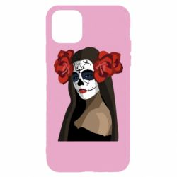 Чохол для iPhone 11 Pro Max The girl in the image of the day of the dead