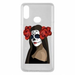 Чохол для Samsung A10s The girl in the image of the day of the dead