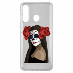 Чохол для Samsung M40 The girl in the image of the day of the dead