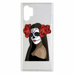 Чохол для Samsung Note 10 Plus The girl in the image of the day of the dead