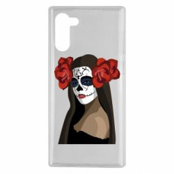 Чохол для Samsung Note 10 The girl in the image of the day of the dead