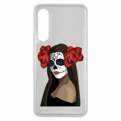 Чехол для Xiaomi Mi9 SE The girl in the image of the day of the dead