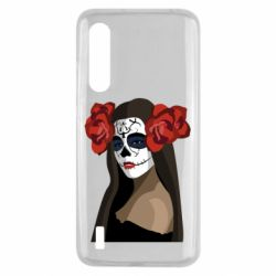 Чехол для Xiaomi Mi9 Lite The girl in the image of the day of the dead