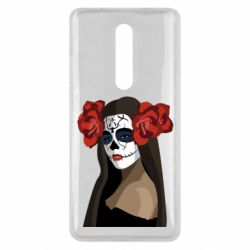 Чехол для Xiaomi Mi9T The girl in the image of the day of the dead