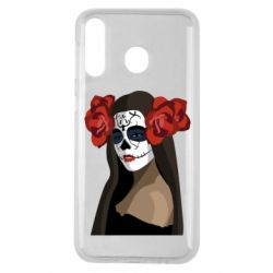 Чохол для Samsung M30 The girl in the image of the day of the dead