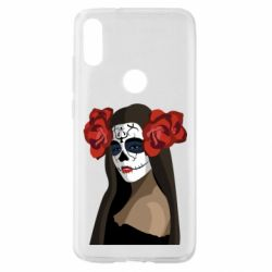 Чехол для Xiaomi Mi Play The girl in the image of the day of the dead