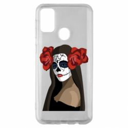 Чохол для Samsung M30s The girl in the image of the day of the dead