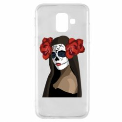 Чохол для Samsung A6 2018 The girl in the image of the day of the dead