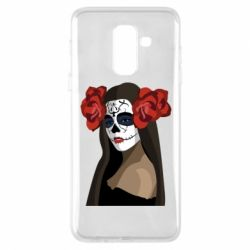 Чохол для Samsung A6+ 2018 The girl in the image of the day of the dead