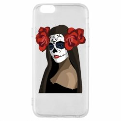 Чохол для iPhone 6/6S The girl in the image of the day of the dead