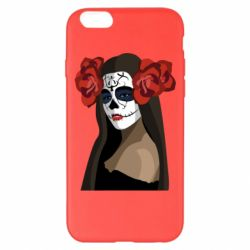 Чохол для iPhone 6 Plus/6S Plus The girl in the image of the day of the dead