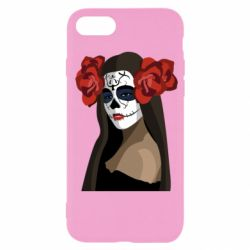 Чохол для iPhone 7 The girl in the image of the day of the dead