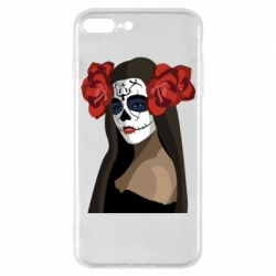 Чохол для iPhone 7 Plus The girl in the image of the day of the dead
