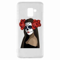 Чохол для Samsung A8+ 2018 The girl in the image of the day of the dead