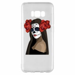 Чохол для Samsung S8+ The girl in the image of the day of the dead
