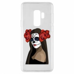 Чохол для Samsung S9+ The girl in the image of the day of the dead