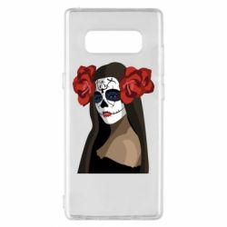 Чохол для Samsung Note 8 The girl in the image of the day of the dead