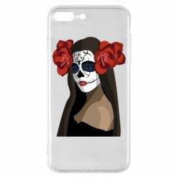 Чохол для iPhone 8 Plus The girl in the image of the day of the dead