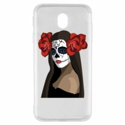 Чохол для Samsung J7 2017 The girl in the image of the day of the dead