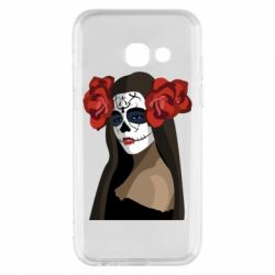 Чохол для Samsung A3 2017 The girl in the image of the day of the dead