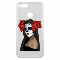 Чехол для Xiaomi Mi A1 The girl in the image of the day of the dead
