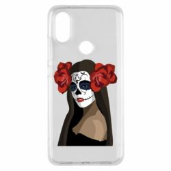Чехол для Xiaomi Mi A2 The girl in the image of the day of the dead