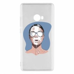 Чехол для Xiaomi Mi Note 2 The girl is doused with milk